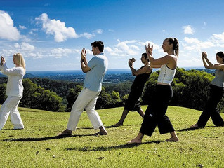 Next six exercises of Tai Chi Qigong Second Section.