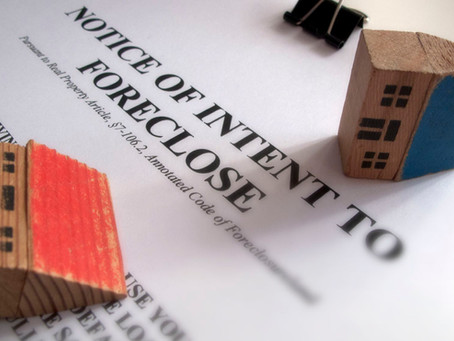 AVOIDING FORECLOSURE BY SELLING A HOME