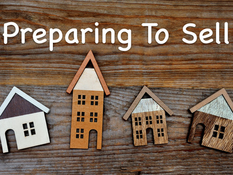 MONTHS LONG PREPARATIONS TO SELL YOUR HOME