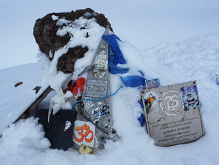 Русичи на вершине Эльбруса