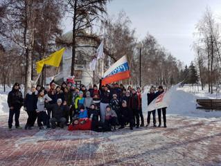 Русская пробежка Защитников Отечества