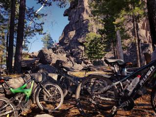 На велоконях к скальнику Старуха