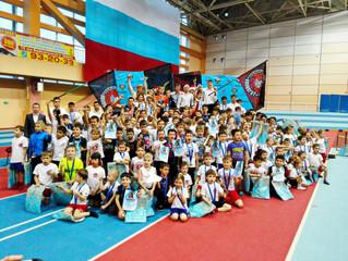 Новогодний турнир по спортивному многоборью среди детей