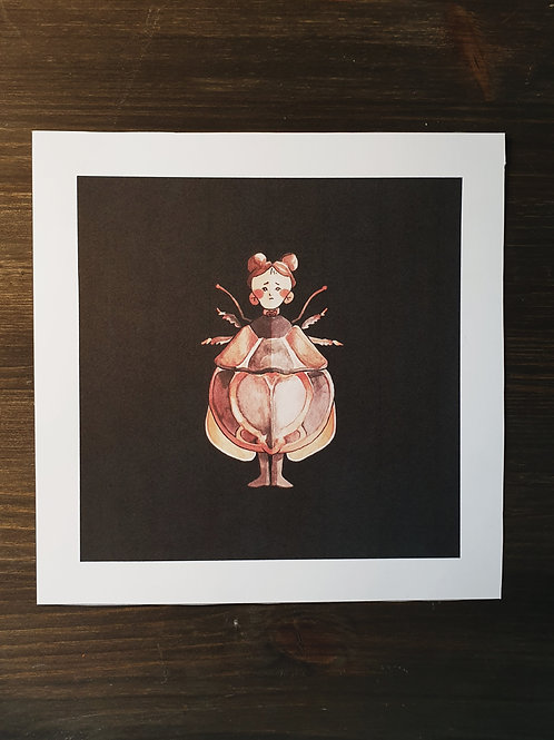 Lepidochora Porti - An insect child