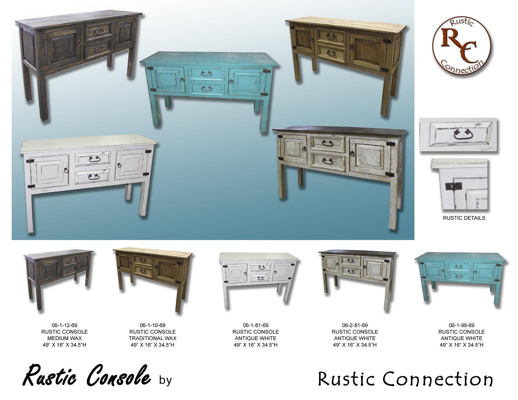 21-Rustic Console