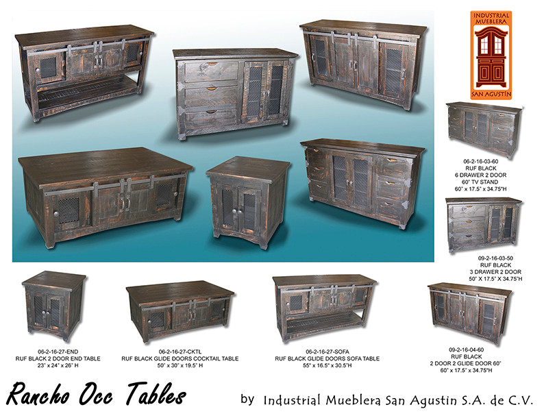 COMODAS TV / RANCHO / TV STANDS
