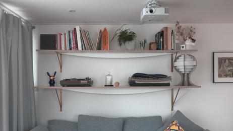 Curve Shelves