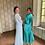 Thumbnail: Vestido Kimono Multi Turquesa