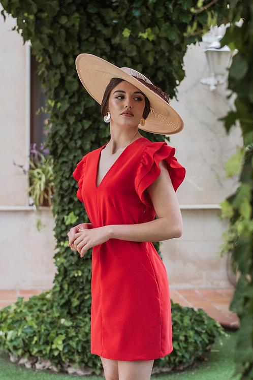 Vestido Moraig Rojo