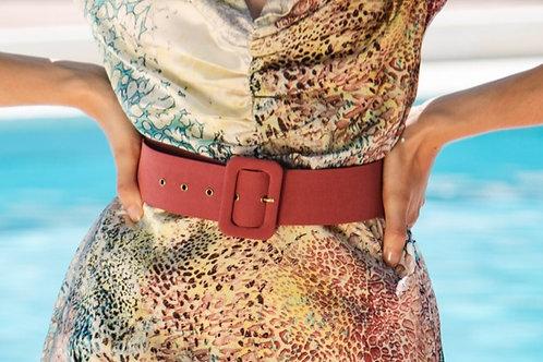 Cinturón Berenjena