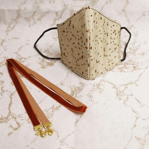 PACK Mascarilla HOMOLOGADA otoño 2 + Cadena para mascarillas y gafas