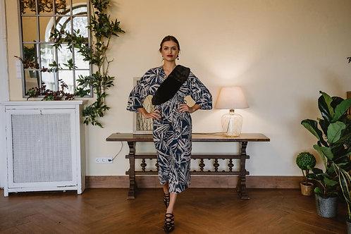 Vestido Kimono Mariola azul
