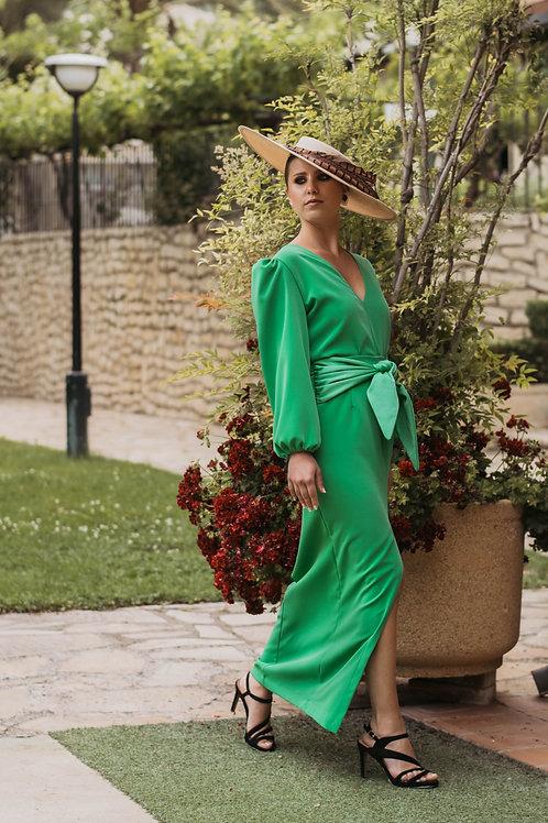 Blusa Portet Verde Andalucía