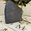 Thumbnail: Mascarilla encaje azul y plata
