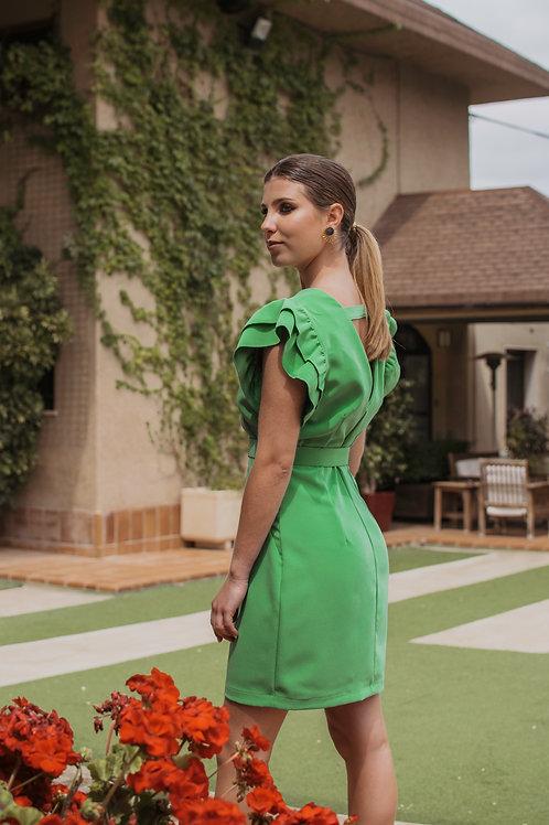 Vestido Moraig Verde