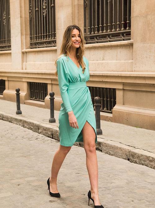 Vestido Sonia Verde agua