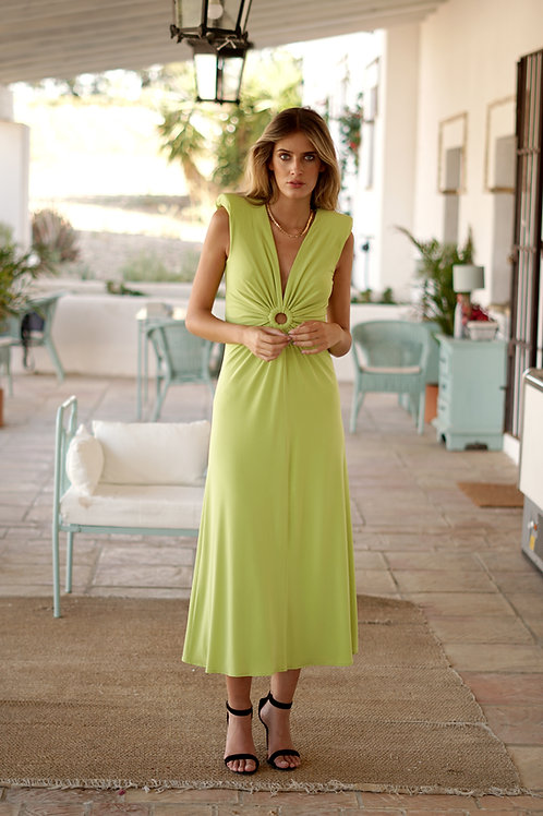 Vestido Macarella lima