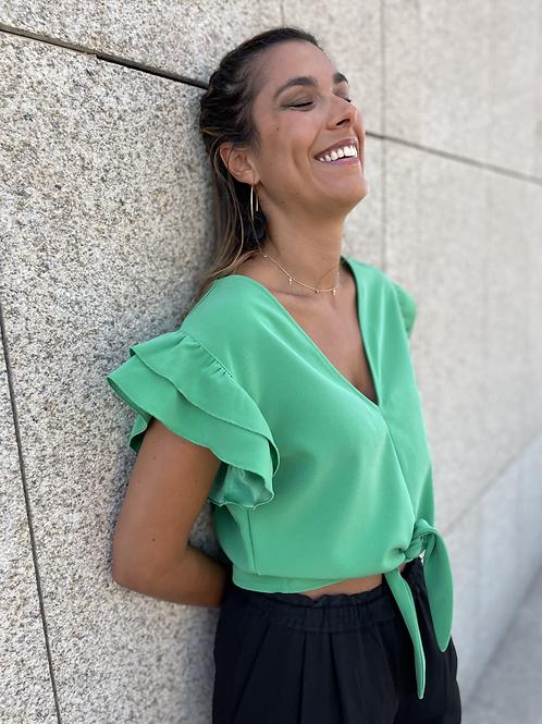 Blusa Teulada Verde Andalucía