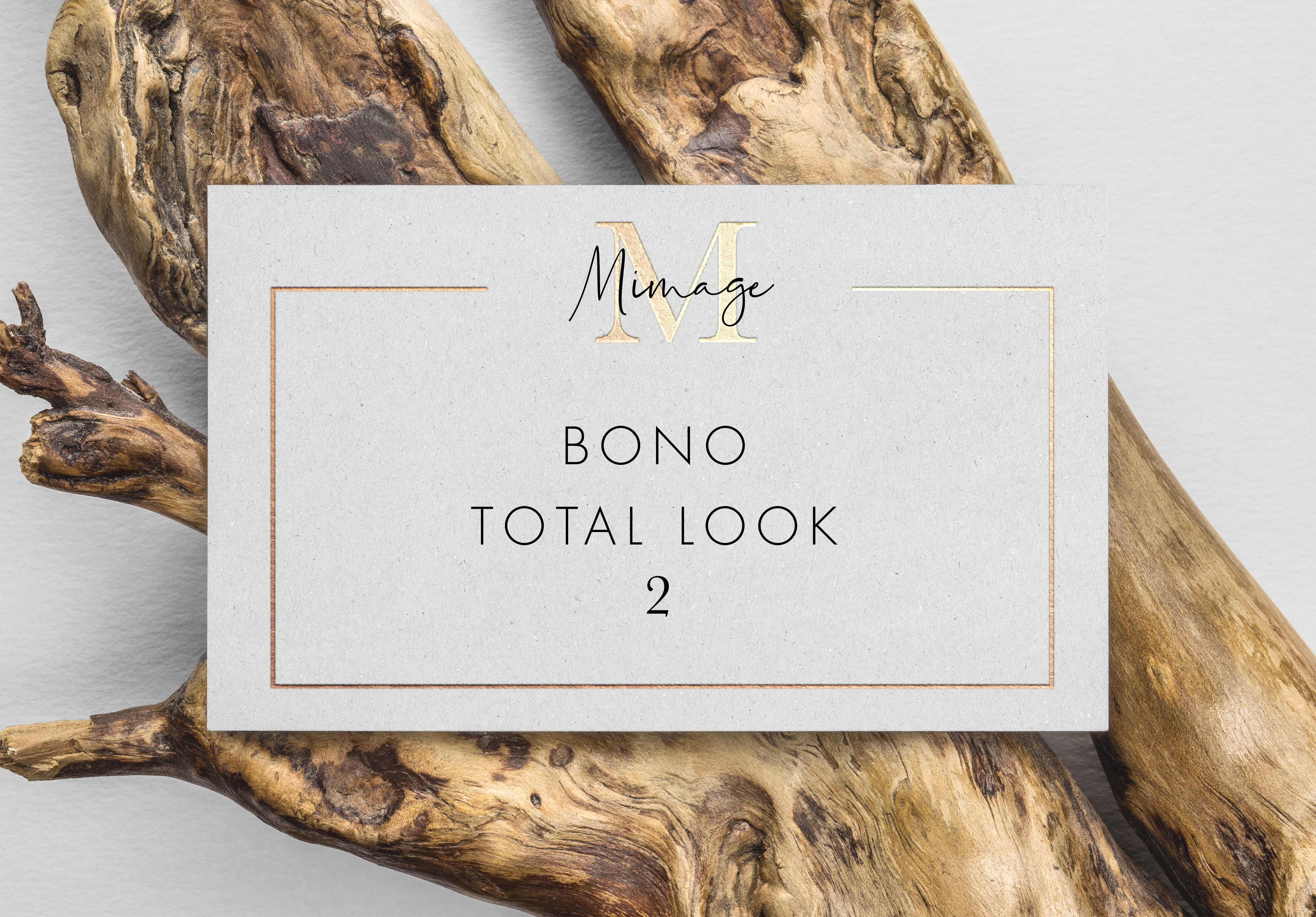 Bono 2 total look