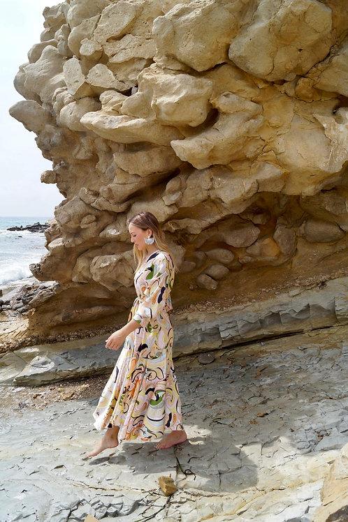 Vestido Kimono Pastel