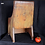 Thumbnail: A mid 19th C French Canadian miniature children's commode chair
