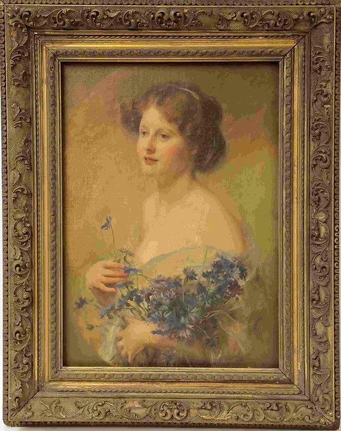 Walter Ernest Webster (1877-1959) Portrait of a Lady
