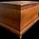 Thumbnail: A mid 19th C Quebec sarcophagus chest / coffre tombeau Québecois, Joseph FT 1865