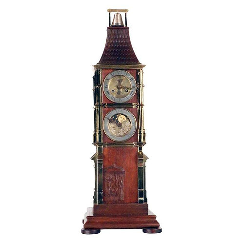 An astronomical tower clock by Mathieu Planchon (act.1890-1920) au Palais Royal