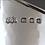 Thumbnail: An English sterling silver cream jug by Omar Ramsden, London 1935