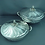 Thumbnail: A pair of large continental .800 silver entree dishes, probably Czech circa 1930