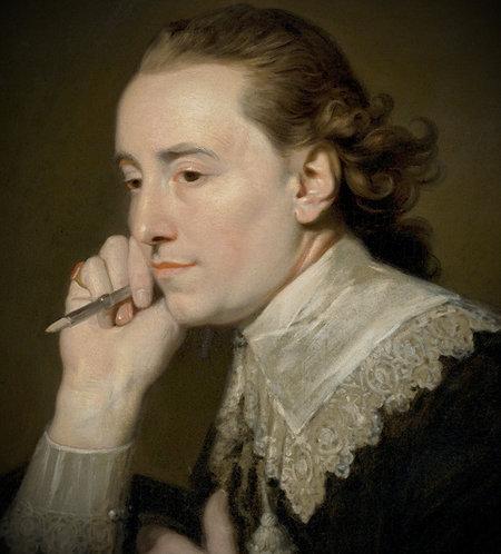 John Thomas Seton(Scottish, 1738-1806) Self Portrait in Van Dyck dress c1775