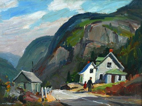 Tom Roberts (Canadian 1856-1931) September Morning, Grande Piles