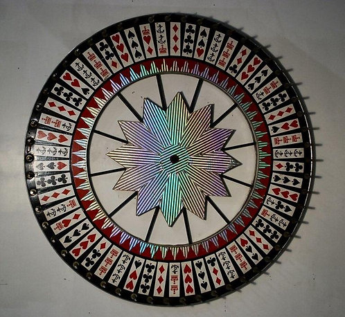An original Canadian PNE game wheel, Westcoast Amusement Group, circa 1940