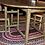 Thumbnail: A small mid 19th C Quebec drop leaf table / table à barrière verte Québecois