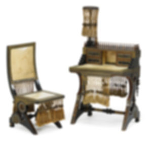 Milord Antiques 09 - Rare Set of Desk an