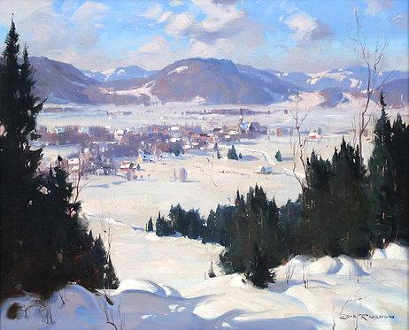 Eric Riordon (Canadian 1906-1948) Winter Landscape