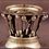 Thumbnail: A Georg Jensen sterling silver 'Louvre' bowl on pedestal base, designed 1912