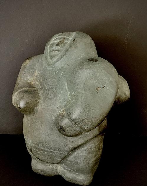 Barnabus Arnasungaaq (Baker Lake) 'Happy Woman' circa 1975