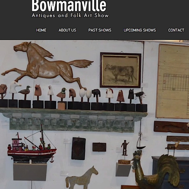 BOWMANVILLE ANTIQUES & FOLK ART SHOW