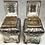 Thumbnail: A very fine pair of George III silver tea caddies in a period shagreen box, 1761