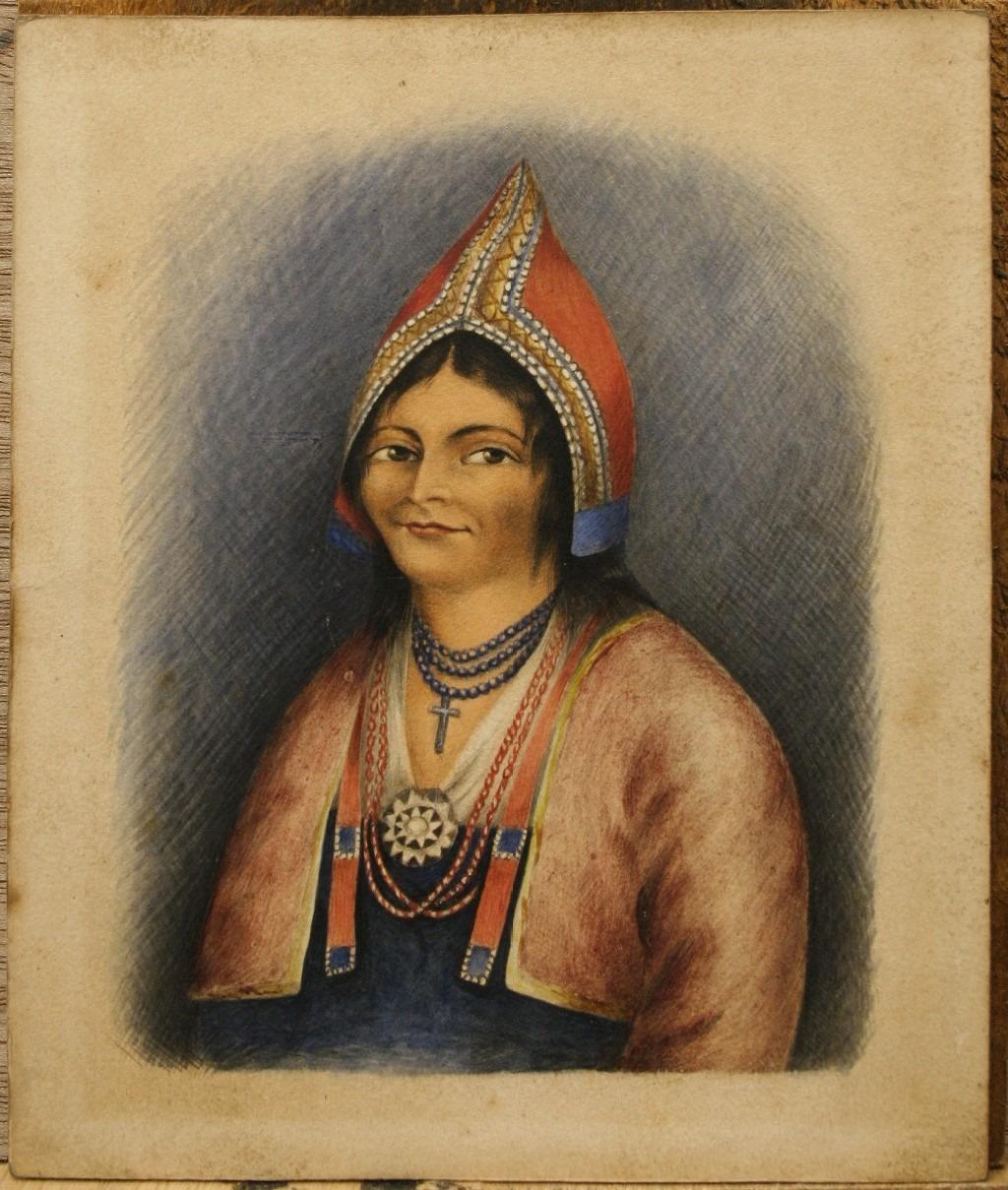 PORTRAIT OF MARY THOMAS