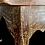 Thumbnail: A mid 19th C Québecois side table with drawer / table à dentelle avec tiroir