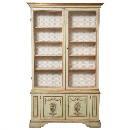 An Italian late 19th C Neo-Classical style cabinet