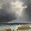 Thumbnail: Émile Godchaux (1860-1938) 'Stormy coast' oil on canvas, c1890
