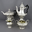 Thumbnail: A late Victorian sterling silver tea set by W & G Sissons, London 1895-6