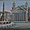 Thumbnail: A late 19th C Italian micro-mosaic plaque depicting the Pantheon Palace, c1880