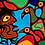 Thumbnail: NORVAL MORRISSEAU, C.M. (1931-2007) 'Shaman and Birds' late 1970s