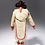Thumbnail: Unidentified artist, Qamani-tuaq (Baker Lake) 'Doll with plaited hair', c1980s