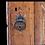 Thumbnail: A mid 18th C Louis XIII style Quebec corner cabinet / Petite encoignure