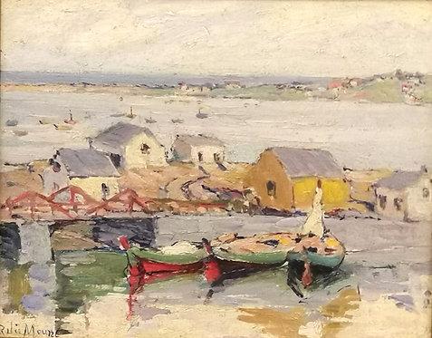 Rita Mount, RCA (Canadian, 1885-1967) 'Rivière  aux Renards' / Fox River, Quebec